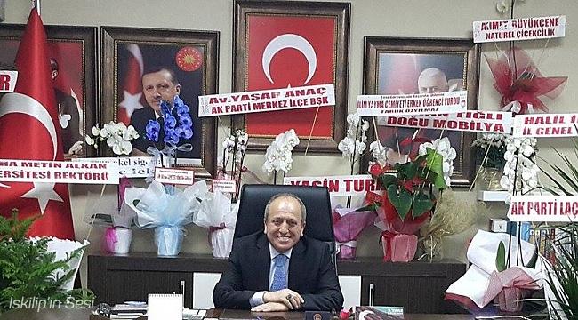 Ak Parti İl Başkanı Karadağ'ın bayram kutlaması