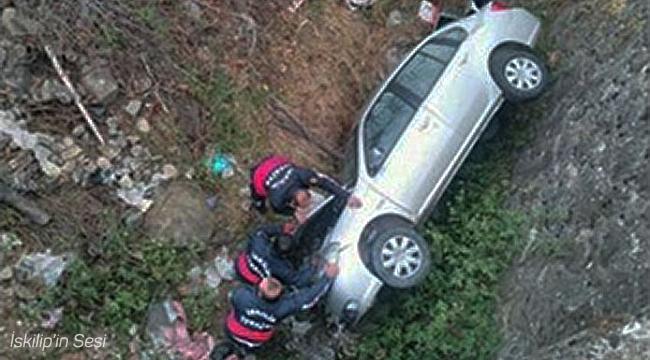 İskilip'te trafik kazası