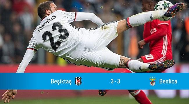 Beşiktaş'tan müthiş dönüş