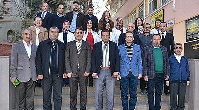 İskilip Akşemseddin Anadolu Lisesinde öğretmenler günü kutlaması