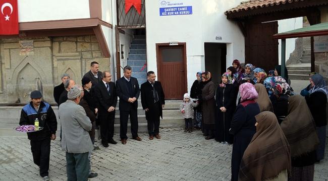İskilip Şadibey Kur'an Kursu açıldı