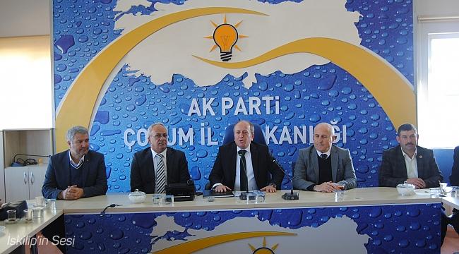 Mehmet Karadağ İl Genel grubunu topladı
