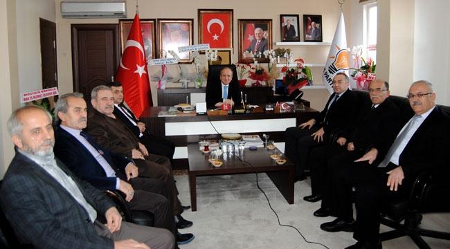 MHP İl Başkanı'ndan Ak Parti İl Başkanı'nda hayırlı olsun ziyareti