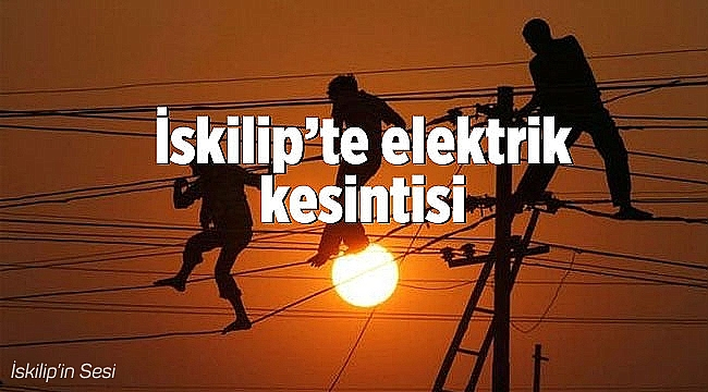 Seyirçay köyünde elektrik kesintisi