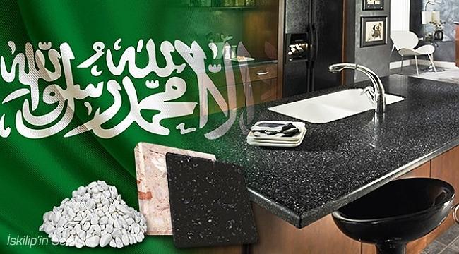 Suudi Arabistan yapay mermer hammaddesini Türkiye'den alacak