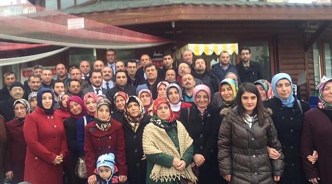 AK Parti Çorum Merkez İlçe Başkanı Erhan Akar çalışmalara start verdi
