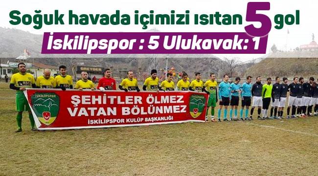 İskilipspor galibiyet serisine devam etti