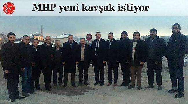 MHP Çankırı - Çorum kavşağında inceleme de bulundu