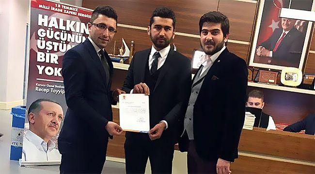 İskilip'te AK Gençliğin yeni başkanı Ali Osman Aygün
