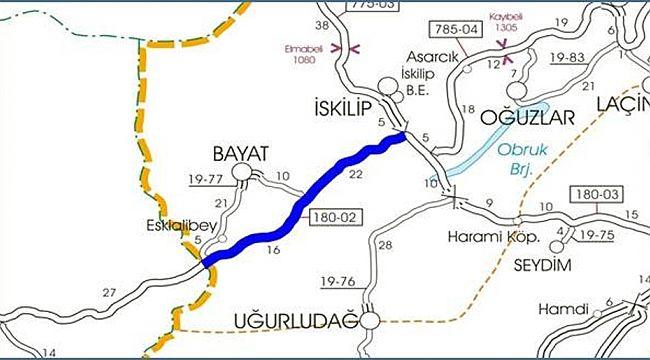 Valilik Çankırı yolunun yüzde 40 tamamlandığını açıkladı