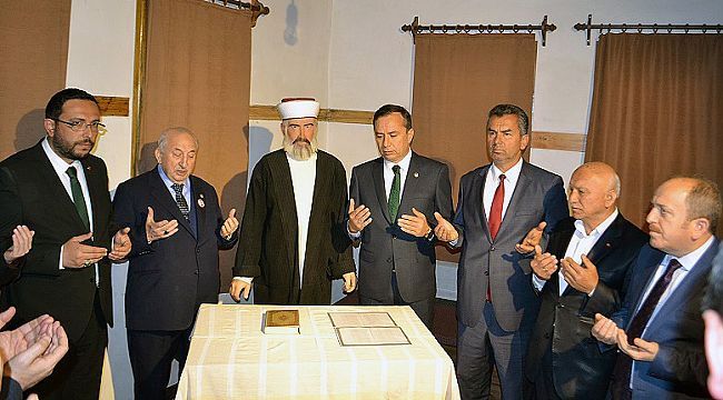 İskilip'te alimler müzesi açıldı