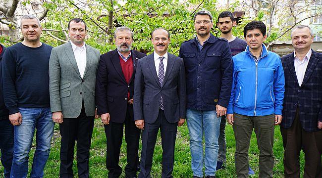 Yozgat Valisi Yurtnaç taziye için İskilip'e geldi