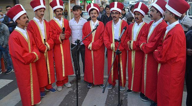 Akşemseddin hazretlerini uğurlama gelenekselleşti