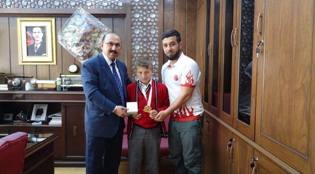 Ferhat Yiğit Türkiye şampiyonu oldu