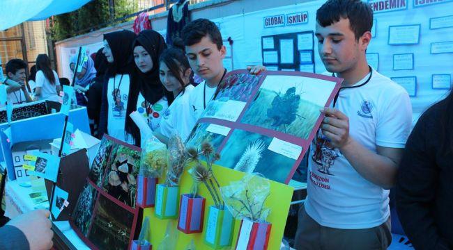 İskilip Akşemseddin Anadolu Lisesin'de TÜBİTAK fuarı
