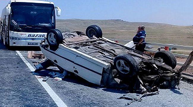 İskilip - Çankırı yolunda trafik kazası: 2 ölü