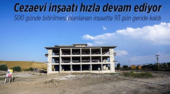 İskilip Açık cezaevi inşaatı devam ediyor