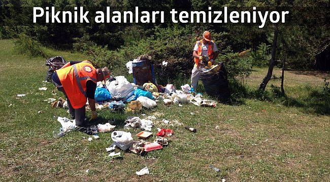 İskilip kaymakamlığı piknik alanlarında temizlik başlattı