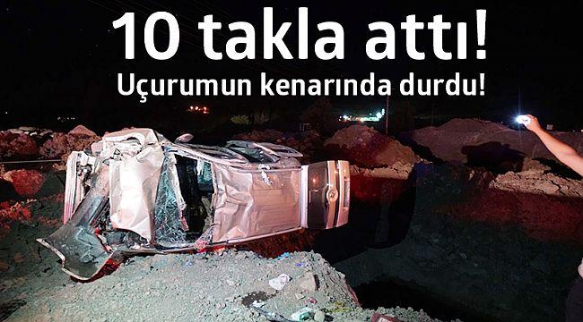 İskilip'te büyük kaza: 6 yaralı!