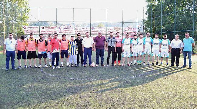 İskilipspor halı saha turnuvası devam ediyor