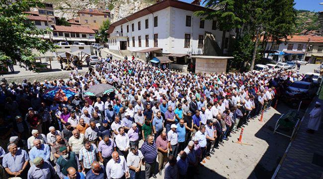 MHP ilçe başkanının babası vefat etti