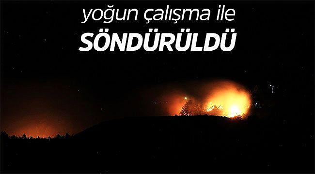 İskilip'te başlayan orman yangını söndürüldü