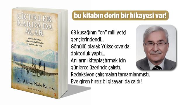 Ahmet Nabi Kızmaz'ın kitabı çıktı