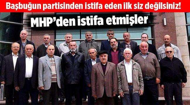 MHP'den istifa ettiklerini duyurdular