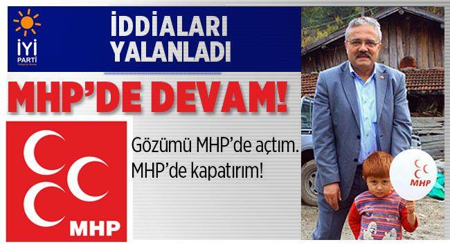 MHP'de devam ediyorum