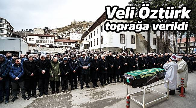 Orhan Öztürk'ün babası toprağa verildi