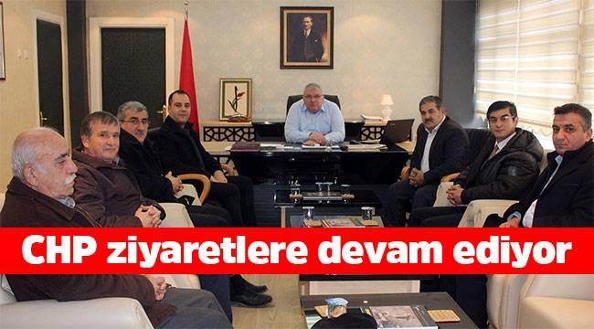 CHP İskilip İlçe örgütü kurumları ziyaret etti