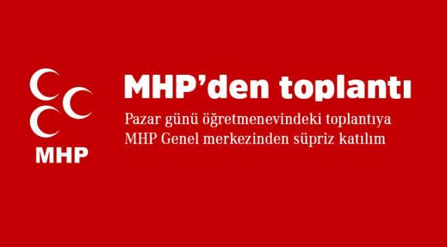 İskilip MHP'den pazar toplantısı