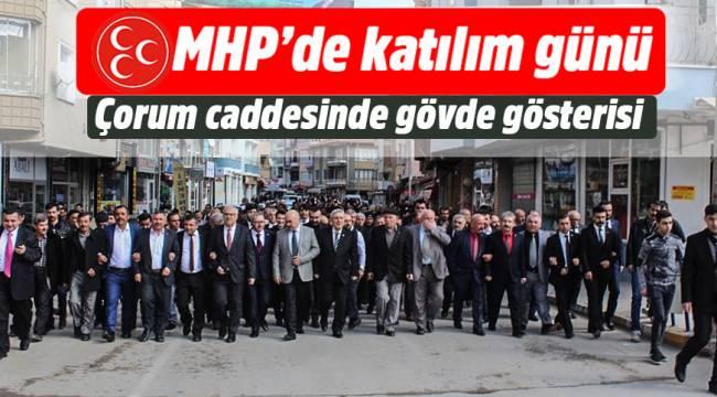 İskilip MHP harekete geçti