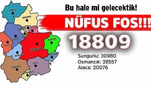 İskilip şehir nüfusu 18.809 kişi olarak açıklandı