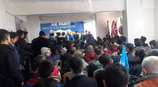 Türkiye Gençlerle Güçleniyor etkinliği İskilip'te yapıldı