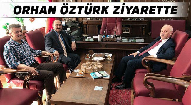 Orhan Öztürk İlçe Milli Eğitim Müdürü'nü ziyaret etti