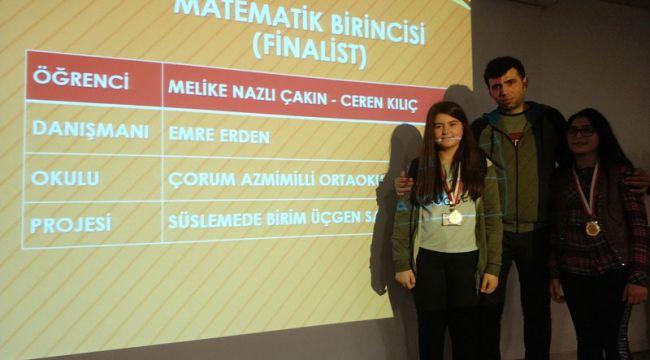 İskilip Azmimilli Ortaokulu TÜBİTAK proje yarışmasında finalde