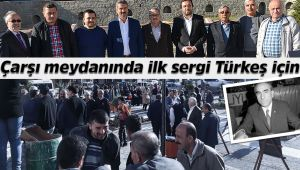 İskilip'te Alparslan Türkeş'in 21. ölüm yıl dönümünde sergi açıldı
