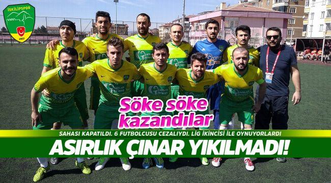 İskilipspor - Osmancık BLD'yi 3-2 yendi