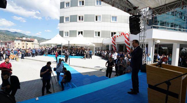 İskilip Atıf Hoca Devlet Hastanesini sağlık bakanı açtı