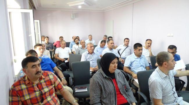 İskilip milli eğitimde müdürler toplandı