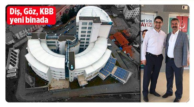 İskilip'te hastane yeni binasında hizmete başladı