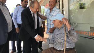 Karadağ'dan esnaf ve vatandaşlara teşekkür ziyareti