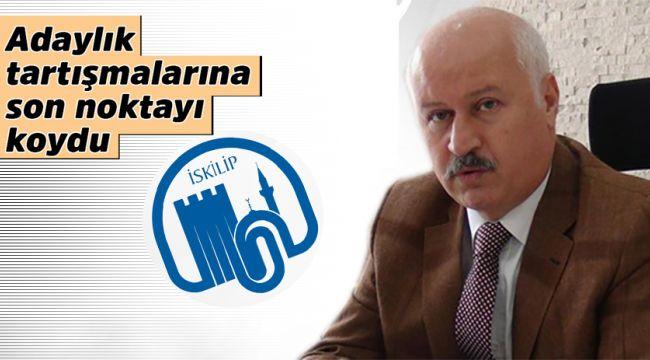 Orhan Öztürk'ten adaylık açıklaması