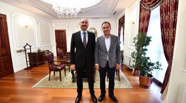 Ahmet Sami Ceylan adalet bakanını ziyaret etti