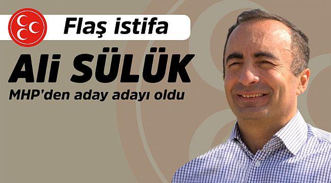 İlçe tarım müdürü Ali Sülük adaylık için istifa etti