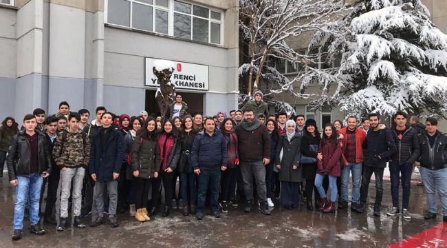 Akşemseddin Anadolu Lisesi öğrencileri Beytepe Kampüsünde