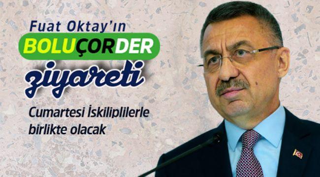 Cumhurbaşkanı yardımcısı Oktay, BOLU ÇOR-DER'i ziyaret edecek