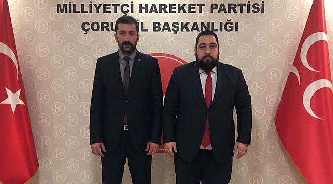 MHP MYK üyesi Hasan Oğuz Öbekçi İskilip'i ziyaret etti