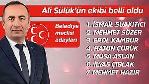 MHP'nin Belediye meclis aday listesi belli oldu